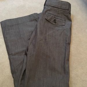 Lee no gap waist size 6M brownish gray pants